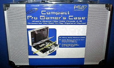 Intec Pro Gamers Case Aluminum Playstation 2 Slim  Factory Sealed  Free Ship