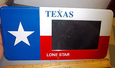 Texas License Plate Frames (Novelty Texas Metal license plate / Photo Frame, unique item! great gift!)