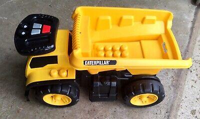 Mega Blocks Catapillar 3 In 1 Riding Yellow Dump Truck