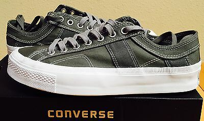 New Discuss ALL STAR SOUTHIE CT OX WOMENS 10.5 MENS 8.5 CHARCOAL Unsullied CASUAL
