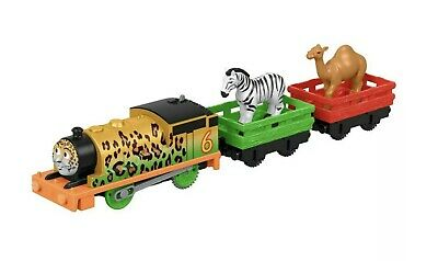 Thomas & Friends Trackmaster Animal Party Percy Motorized Toy Train NEW