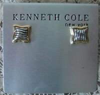 KENNETH COLE PIERCED EARRINGS AND MATCHING BRACELET