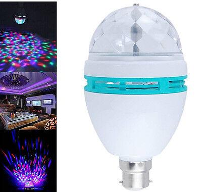 Calming Autism Sensory Kids Toys Lamp Relax Led Light Projector Rotating Bulb