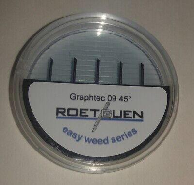 Original Roetguen Graphtec 09 45 Vinyl Cutter Plotter Blades