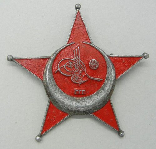 GALLIPOLI TURKISH STAR, GERMAN MADE