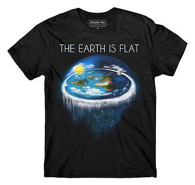 Flat Earth Tshirt Earth Is Flat Firmament  Sheol  Nasa Conspiracy  New World Fe1