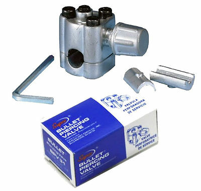 Supco Bpv31 Bullet Piercing Tap Valve 14 516 And 38 Od