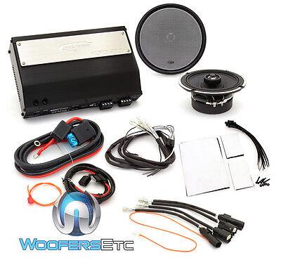 Arc Audio Mpak11 6 5  Motorcycle Roadglide Audio Kits Moto 600 4 602 8 Awg Wire