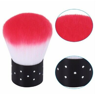 Nail Art Glitter Brush Makeup Dust Clean UV Gel Powder Remover Manicure Acrylic