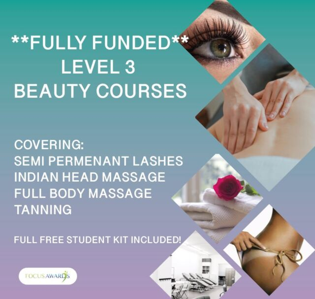 Level 3 Funded Nails/Beauty/Makeup Courses | in Middleton