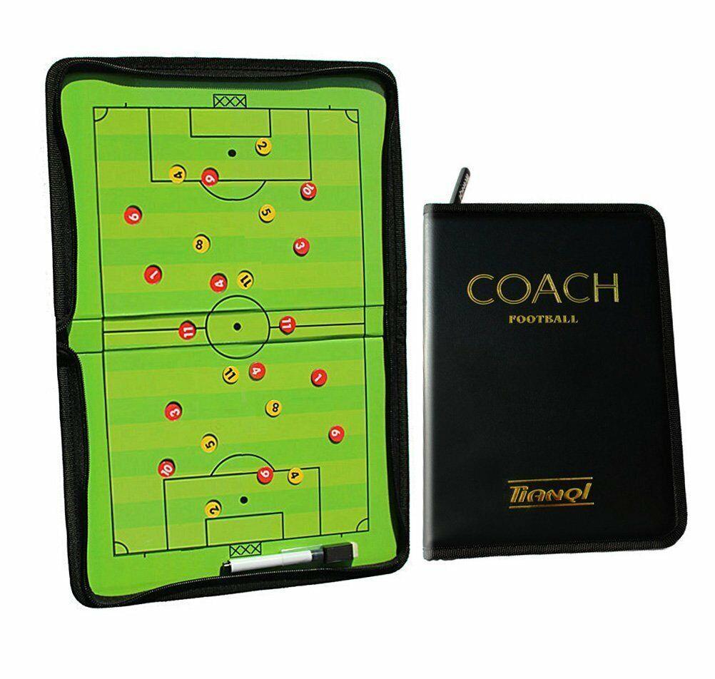 Coach Taktiktafel Fussball Taktikbrett Coaching Board Trainer Taktikmappe DHL