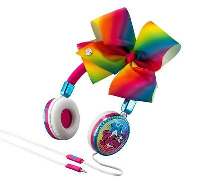 JoJo Siwa Bow Fashion Headphones with built in Microphone So