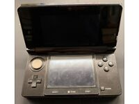 Nintendo 3DS, good condition comes with ac adapter and 2 GB SD card.