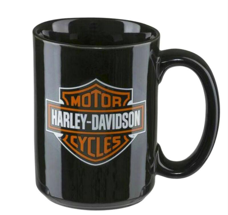 Harley-Davidson®  Classic Logo Orange & Black Bar & Shield® Mug HDX-98605