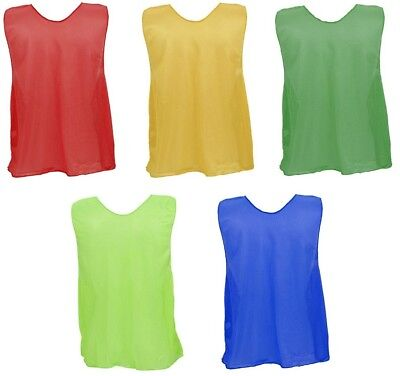 Champion Sports Dozen (12) Micro Mesh, Long ADULT Sports Scrimmage Vests Pinnies ()