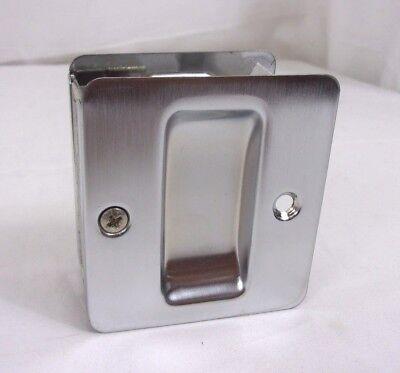 Chrome Pocket Door Hardware - Trimco/BBW Quality Hardware Pocket Door Pull 1064 626 Satin Chrome 220I