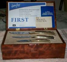 Vintage Gerber Folding Sportsman 1, 2 & 3 Knife Set - Engraved Morley Bayswater Area Preview