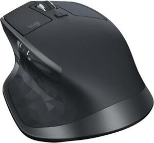 Logitech® MX Master 2S Wireless Mouse, Graphite (910-005131) - BRAND NEW SEALED