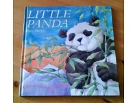 Little Panda by Piers Harper Soft to touch children's book