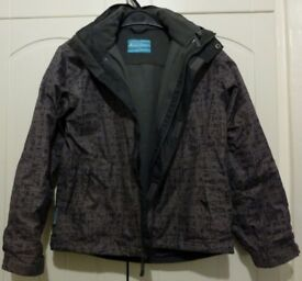 Boy's 3 in 1 Jacket by Mountain Warehouse age 11-12 years