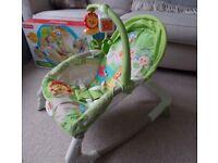 Fisher Price Newborn to Toddler Portable Rocker Baby Chair