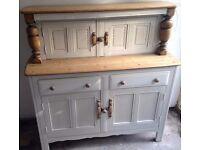 Stunning Ercol Court cupboard /sideboard /dresser in Old White