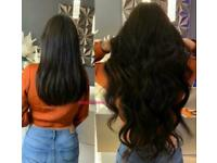 AFFORDABLE PRICES! LONDON MOBILE HAIR EXTENSIONS| Nano rings | Micro rings | Keratin Bonds| Tapeins