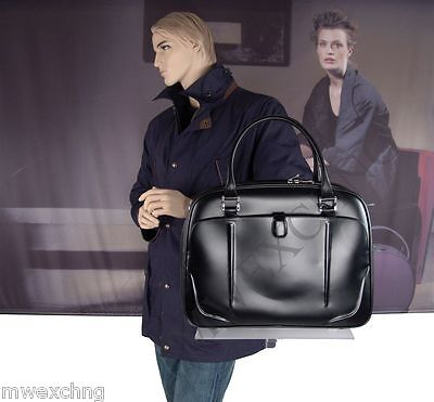 $850.00 Samsonite Black label Leather Bayamo Document Laptop Holder Bag