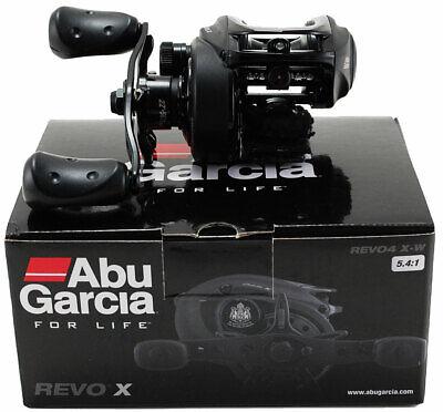 ABU GARCIA REVO X REVO4 X-W 5.4:1 RIGHT HAND BAITCAST REEL #1430439
