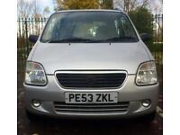 12 MONTHS MOT 2003 SUZUKI WAGON R+ S-LTD (RARE MODEL) 1.3 OWNED 10 YEARS EXCELLENT DRIVE