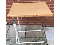 TABLE OVER BED OR OVER CHAIR TABLE MOBILITY