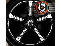"17"" VW Cadiz style, genuine Techniks alloys perfect cond premium tyres."