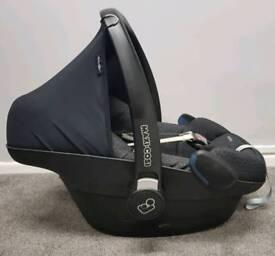 Car seat and base