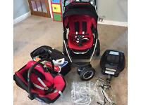Maxi Cosi Mura Travel System with Isofix base and instructions