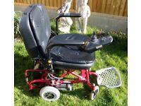 Go-Chair Collapsible Electric Wheelchair in very good condition