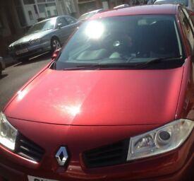 2007 Renault Megane 1.4 16V DYNAMIQUE RED 5DR HATCHBACK
