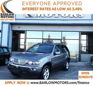 2006 BMW X5 4.4i *EVERYONE APPROVED* APPLY NOW DRIVE NOW.