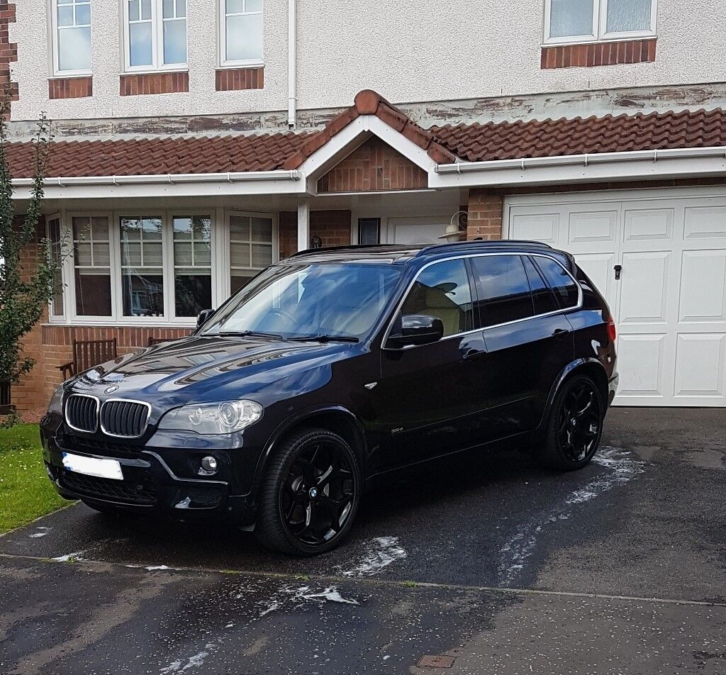 BMW X5 30D Msport 7 Seater 57 Plate