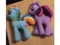My little pony 12 inch plush toys