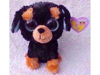 Ty Beanie Boo Rottweiler dog