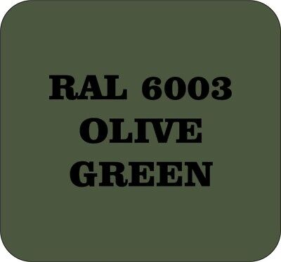 lassic Vintage Paint RAL6003 OLIVE GREEN Gloss (Green Body Paint Spray)