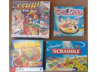 boardgames. 11 boxes, as per 2 pics