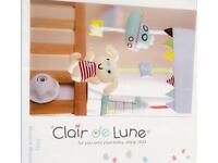 Clair de Lune Ahoy Musical Baby Mobile *new*