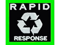 ♻️ RAPID RESPONSE RUBBISH DISPOSAL® EDINBURGH♻️ HOUSE CLEARANCE ,MAN AND A VAN,FURNITURE DISPOSAL