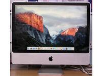 """iMac 2008 24"""" 2.8Ghx Core 2 Duo"""