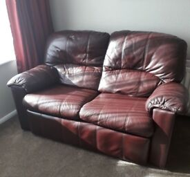 2 seater leather sofa for sale