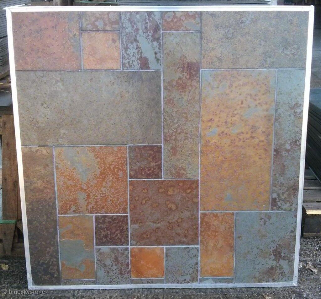Rusty slate floor and wall tiles random pattern clearance rusty slate floor and wall tiles random pattern clearance 1200m2 dailygadgetfo Choice Image