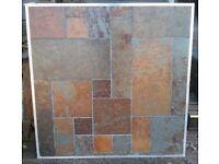 Rusty Slate Floor and Wall Tiles | Random Pattern | CLEARANCE £12.00/m2 - GRAB A BARGAIN