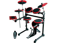 DRUMS: USED DDrum DD1 Electronic Drum Set / Drum Kit with Cymbals , Hi-Hat , Bass Pedal. / USED !