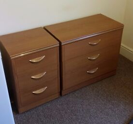 X2 chest of draws